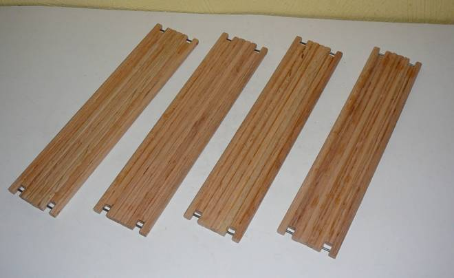 4 Stück  25,5 cm x 5,5 cm    (Eigenbau/Self-'s building) Einzelstück