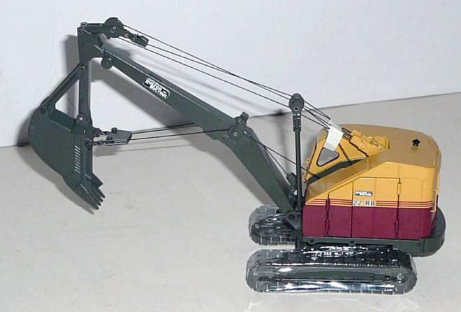 modell emd ruston bucyrus seilbagger rb22 mit tiefl ffel. Black Bedroom Furniture Sets. Home Design Ideas
