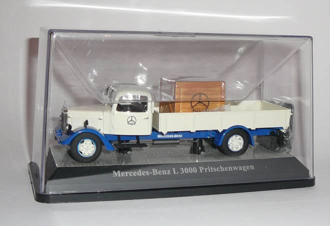 Benz L3000 Pritschenwagen mit Ladegut -Mercedes Benz-