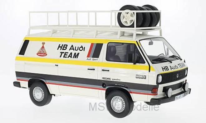T3 Kastenwagen HB Audi Team 1980