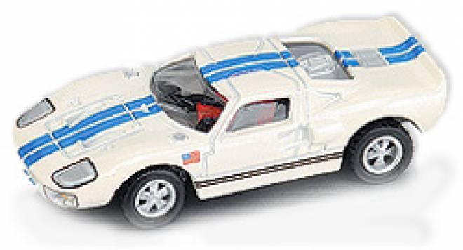 GT40 in weiß-blau (neue Felgen)
