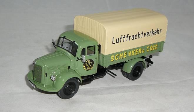 Benz L 3500 - Pritsche - 1950 - -SCHENKER LUFTFRACHTVERKEHR-