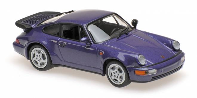 911 TURBO (964) - 1990 - PURPLE METALLIC
