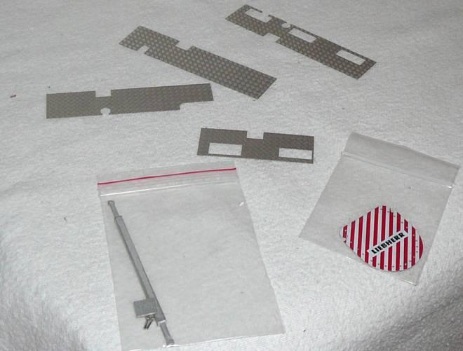 für Liebherr LTM 11200 Etch piece for LTM11200 Boom transport parts
