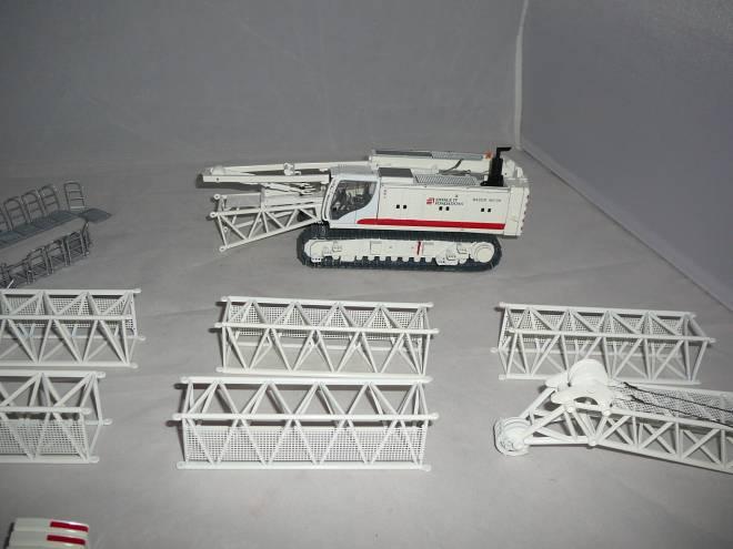 MC96 mit Schlitzwandfräse BC35 und HDS-T