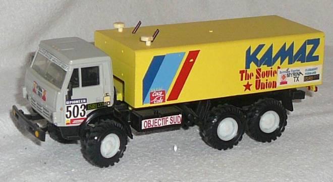 Wüsten Truck 3achs