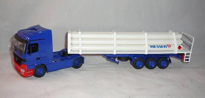 2achs Zugmaschine mir 3achs Gefäßbatterie Sattelanhänger G 200 für Druckgase