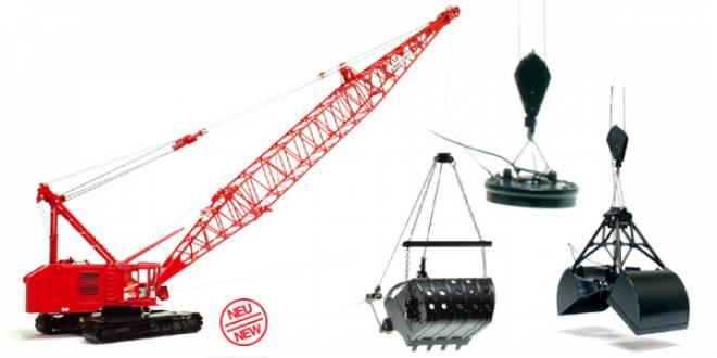 modell twh manitowoc 4100 seilbagger mit schleppschaufel. Black Bedroom Furniture Sets. Home Design Ideas