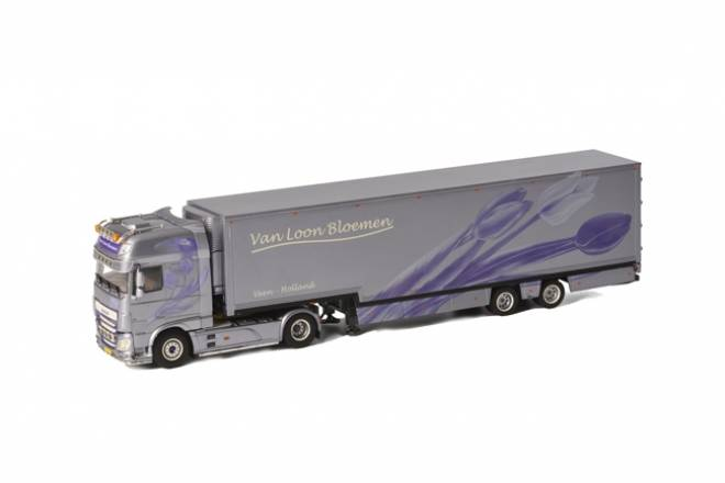 XF SSC Semi Box Trailer