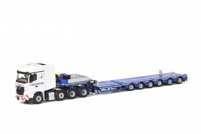 Arocs Big Space SLT 8x4 Broshuis SL 100 tonner Trailer 6achs