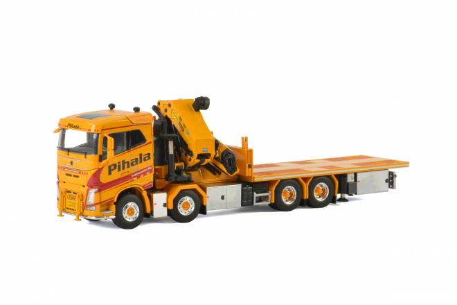 FH4 Sleeper Cab Riged truck with Palfinger 150002 + Jib