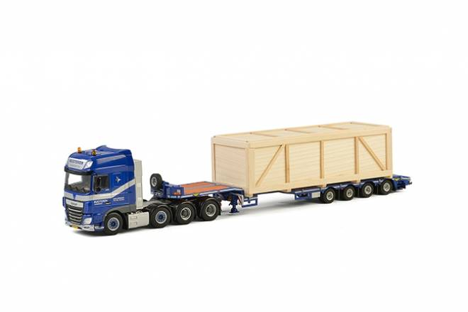 XF SSC Semi Lowloader 4 axle (Including Wooden Box 19 CM)