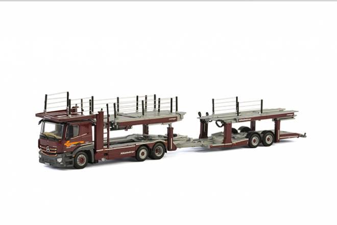 Actros MP4 2300 MM Compact Space mit neuem Fahrerhaus 2achs