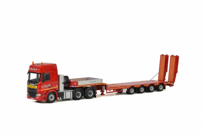 R Highline | CR20H Semi Lowloader - 4achs