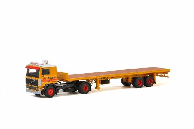 F10 Classic Flatbed Trailer - 2achs