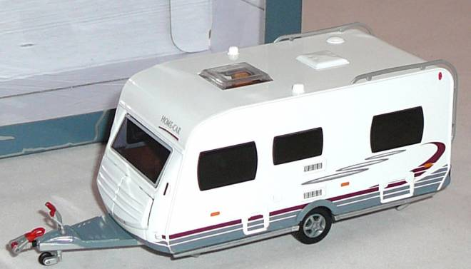home car wohnwagen 1 43 rally 45 liontoys. Black Bedroom Furniture Sets. Home Design Ideas