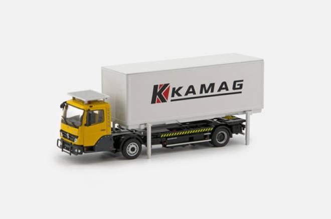 LKW von Kamag Wiesel