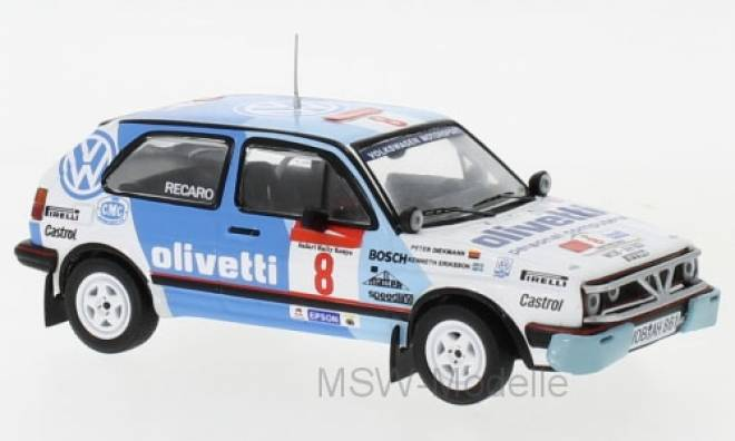 Golf GTI 16V, No.8, Safari Rallye, M.Ericsson/P.Diekmann, 1987