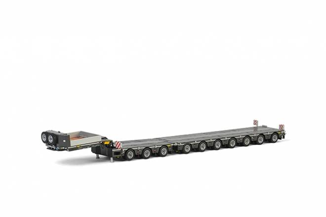 lowloader 7 axle + Dolly 3achs
