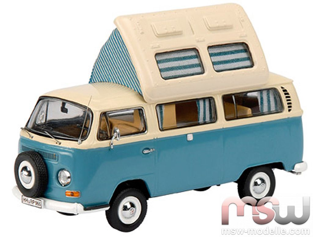 model dickie schuco vw t2 westfalia campingbus bus 1 43. Black Bedroom Furniture Sets. Home Design Ideas