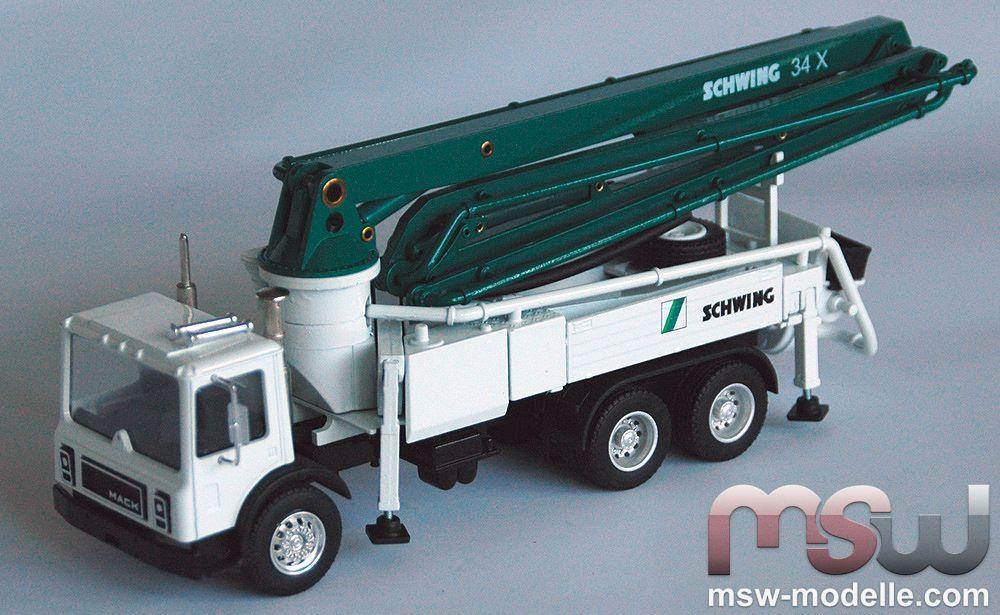 Schwing Concrete Pump 1 50 Mack Kvm 34x Conrad 36106 01