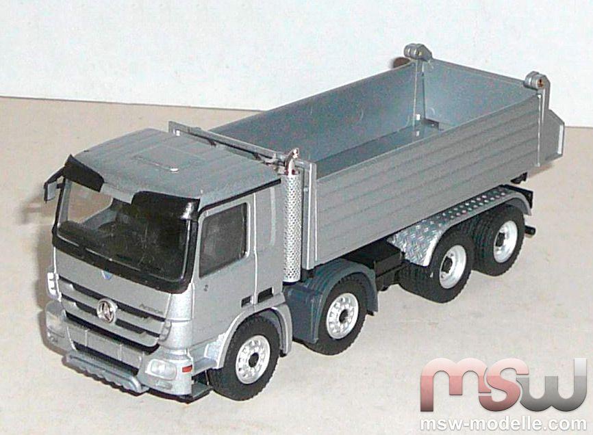 Model conrad mercedes benz actros dreiseitenkipper 4achs for Mercedes benz dump truck