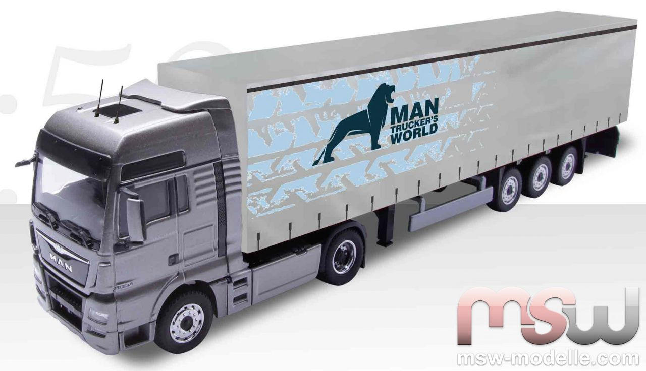 model conrad man tgx xxl euro 6 semitrailer 1 50. Black Bedroom Furniture Sets. Home Design Ideas