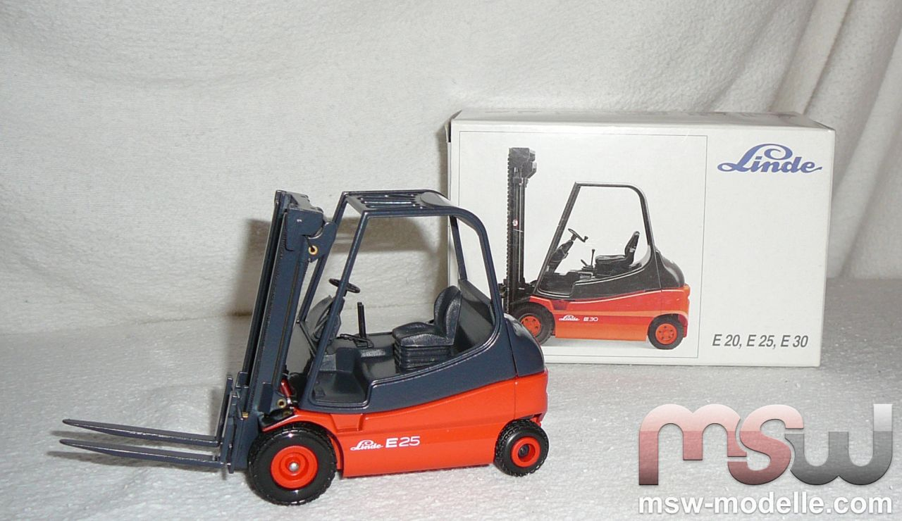 model conrad linde elektro stapler e25 forklift 1 25. Black Bedroom Furniture Sets. Home Design Ideas