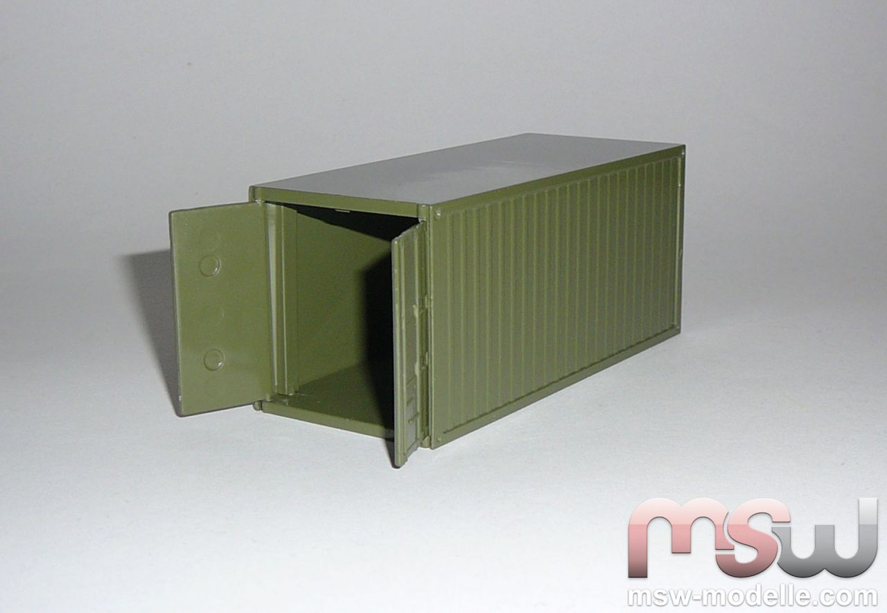model conrad container 20 fu milit r bundeswehr army charge 1 50. Black Bedroom Furniture Sets. Home Design Ideas