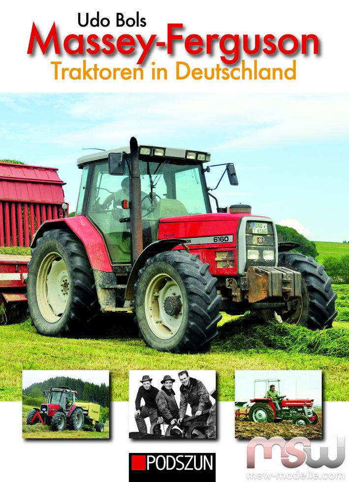 msw book massey ferguson traktoren in deutschland von udo. Black Bedroom Furniture Sets. Home Design Ideas