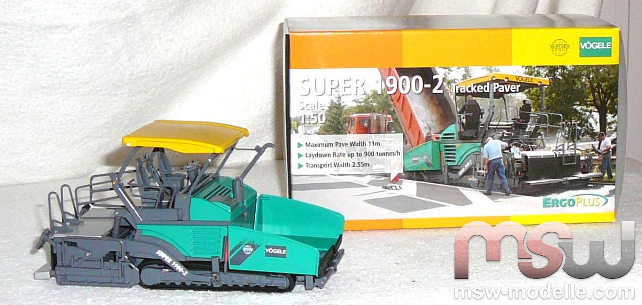 Vögele Pavers: Super 1900 NZG 671, 1:50