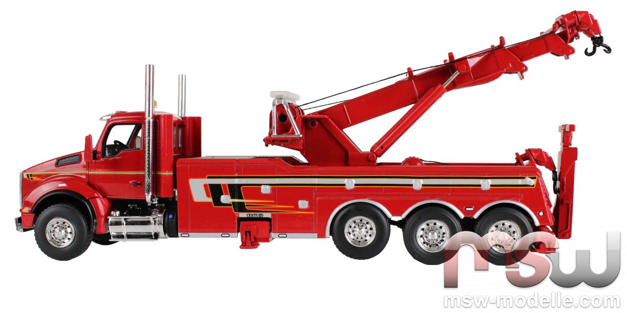 Modell First Gear Kenworth T880 Viper Red With Rotator