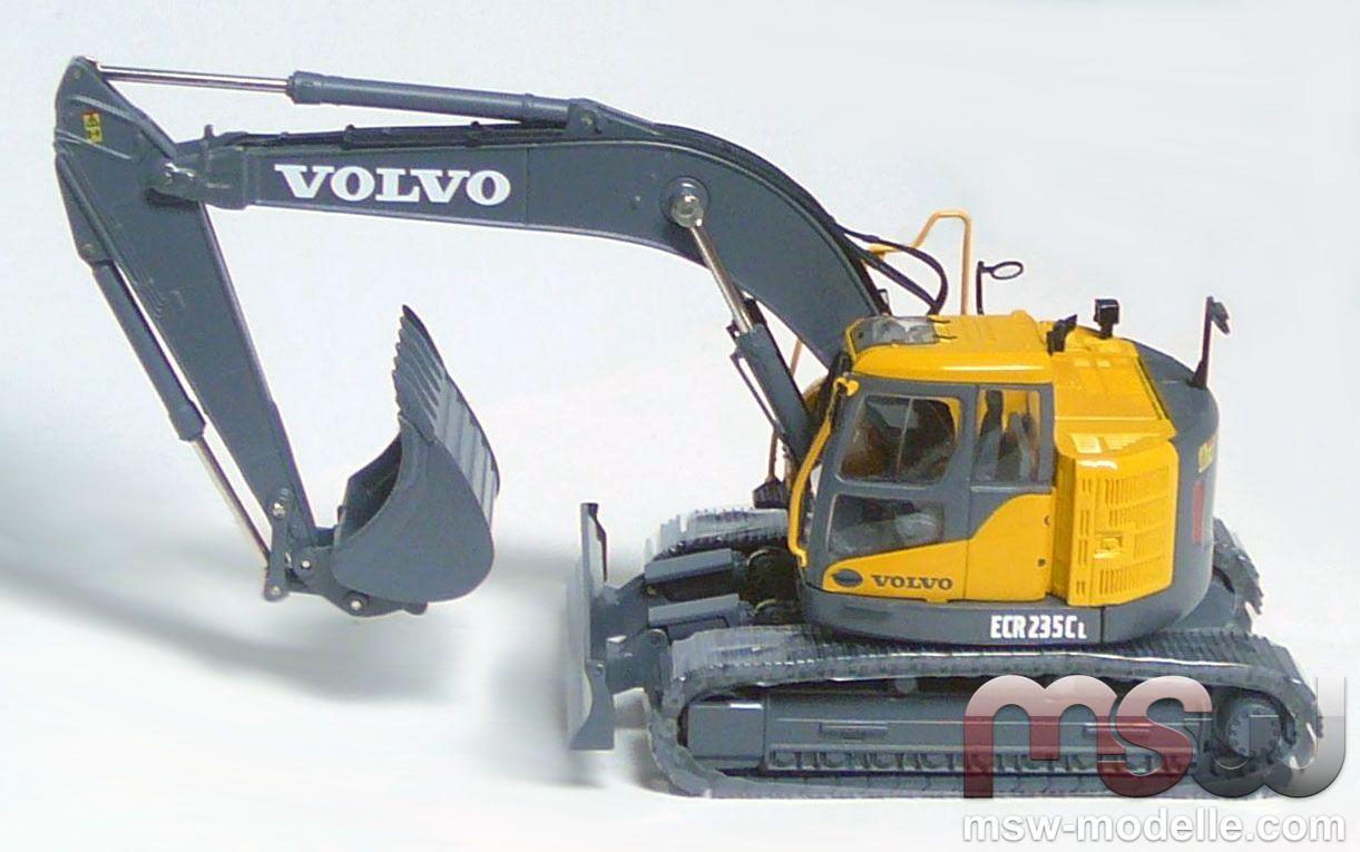 Model Motorart Volvo Ecr 235 Cl Mit Tl Tracked Earthmover
