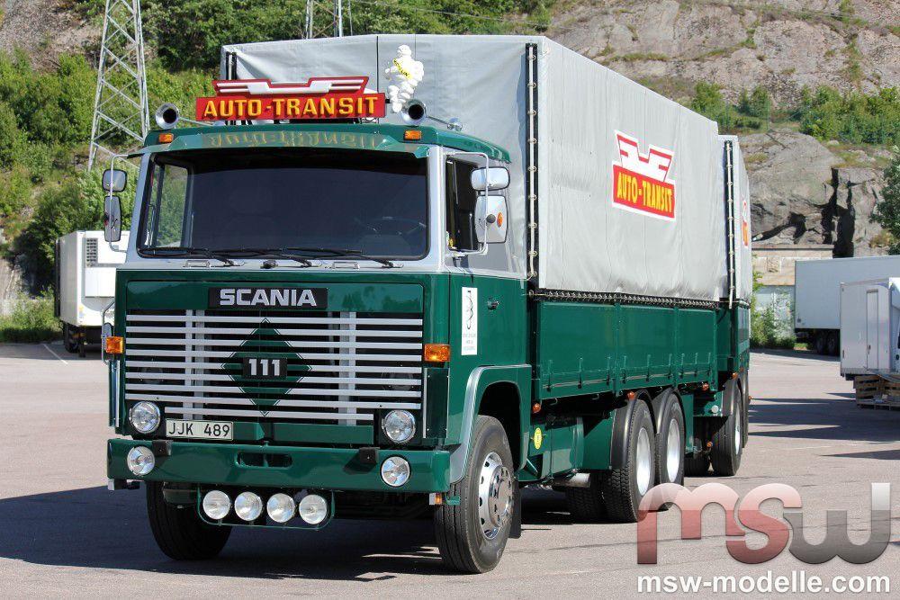 Modell Tekno Scania 1 Serie Motorwagen Mit