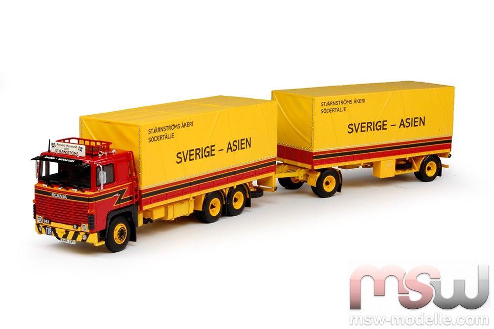 1 50 scania 141 serie motorwagen mit anhanger plan for Walter motor truck company