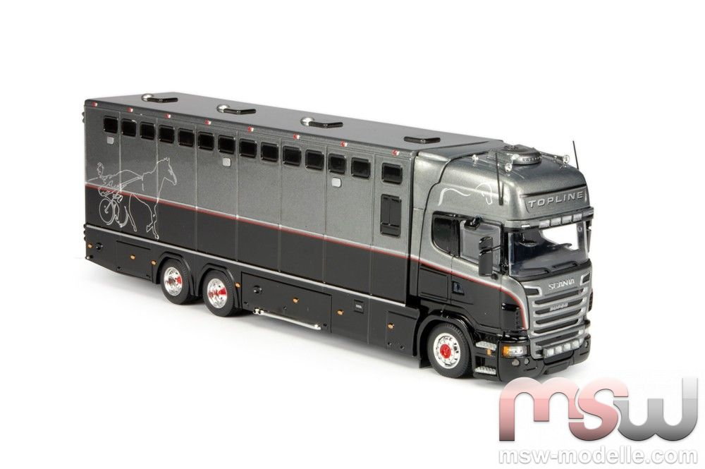 Model Tekno Scania R Serie Topline Horse Transporter 1 50