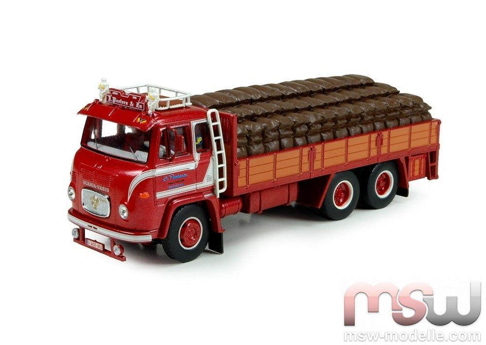 1:50: Scania LBS 76 Motorwagen Kartoffelauflieger, Tekno 70879