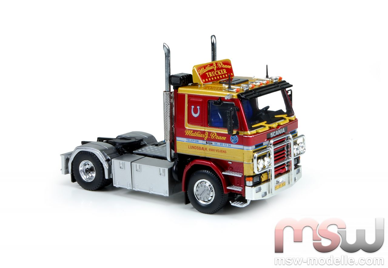 Model Tekno Scania 2 Serie Solo Tractor 2 Axle 1 50