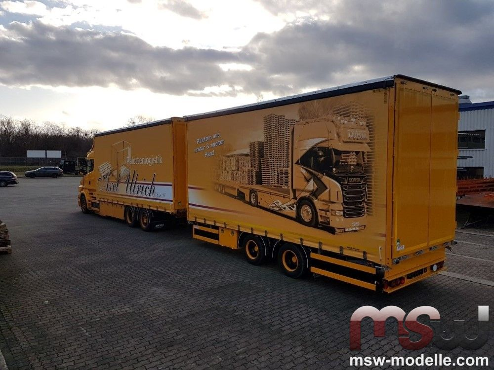 Scania Plan Trailers 1 50 Torpedo Mit Combi Lupal Axel Ulrich