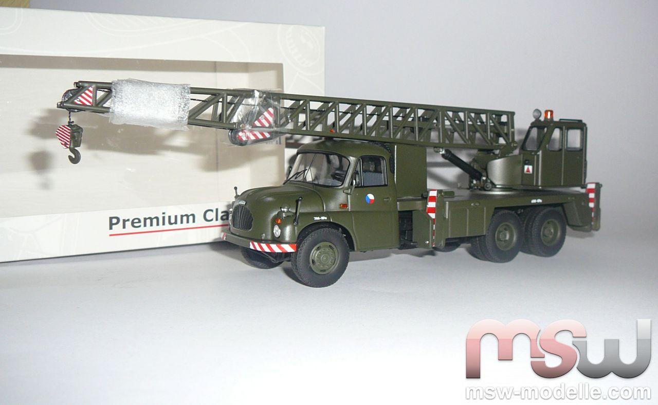 Modell Premium Classixxs Tatra T138 Kran Lkw Milit 228 R