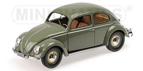 vw beetle 1 18 1200 1949 minichamps 107054000. Black Bedroom Furniture Sets. Home Design Ideas