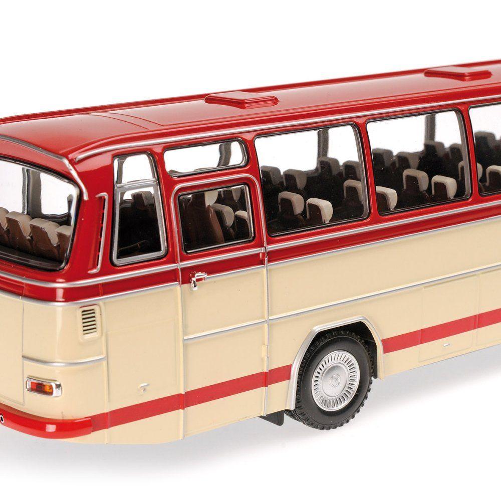Modell minichamps mercedes o 302 1965 bus 1 43 for Mercedes benz long beach service department