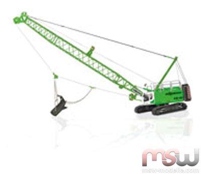 Modell Ros Sennebogen Seilbagger 690 Raupenkran 1 50