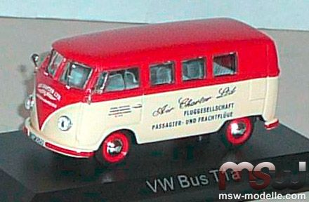 vw bus 1 43 t1 air charter ltd 1958 norev 840210. Black Bedroom Furniture Sets. Home Design Ideas