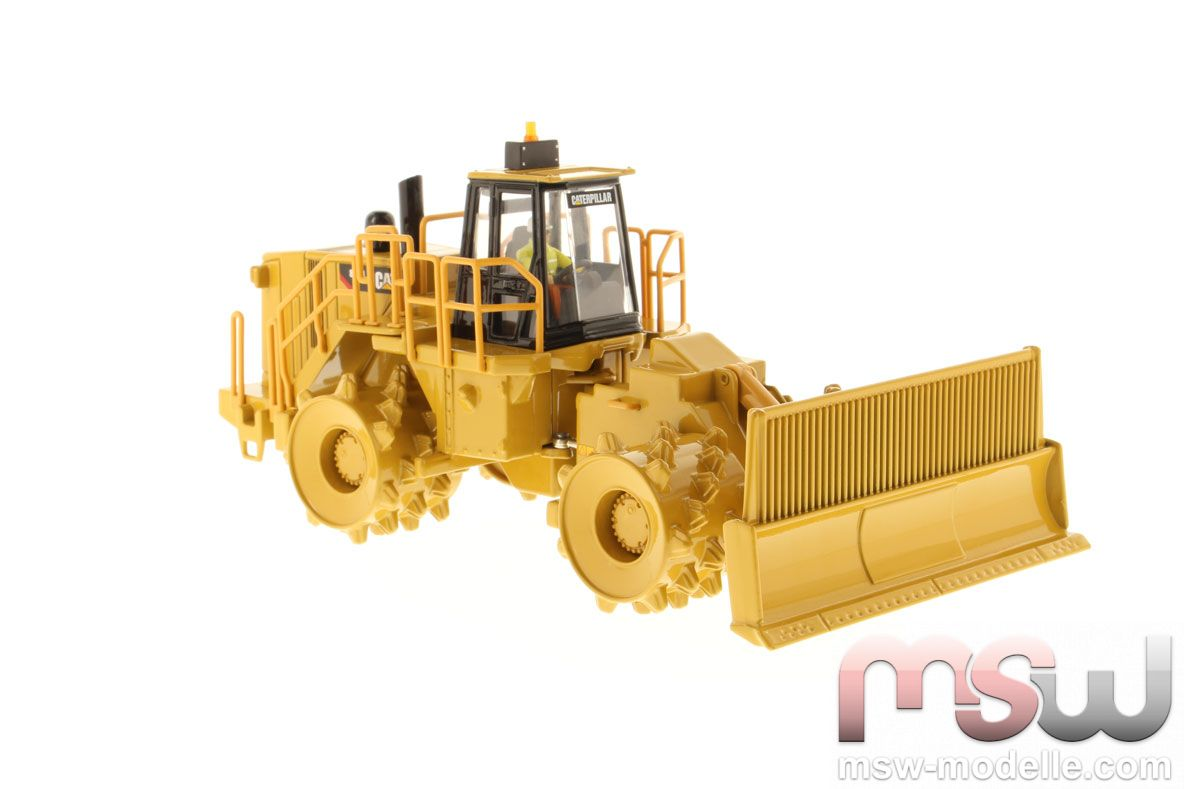 Model diecast masters cat 836h landfill compactor trash Garbage compactor