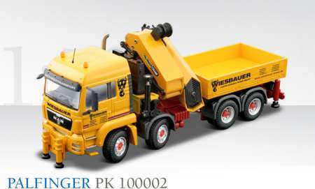 TGS LX 4achs mit Palfinger Ladekran PK100002