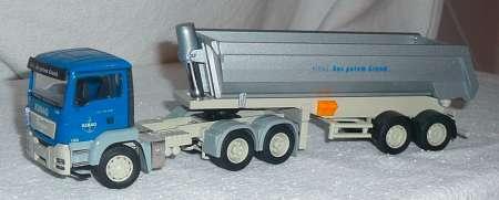 TGS 6x4 mit Kippauflieger