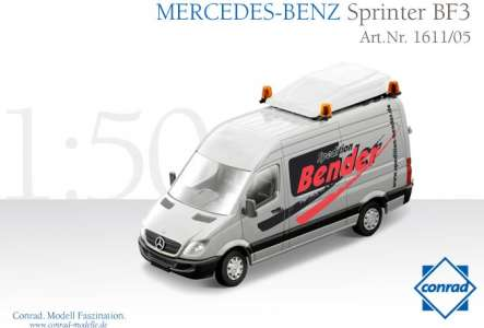 Sprinter BF3 Schwerlastverkehr-Begeitfahrzeug