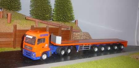 TG-A 3achs mit Goldhofer Schwerlastplattform -New Version-