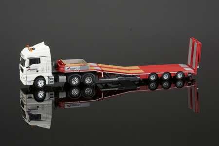 TGX 6X2  MCOS-48-03EB SEMI LOWLOADER WITH